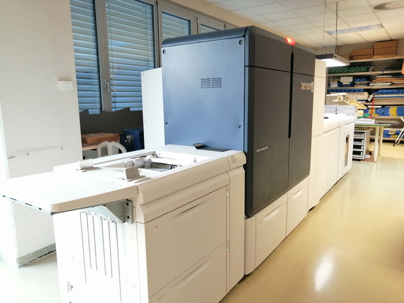 Xerox Ididesse Production Press