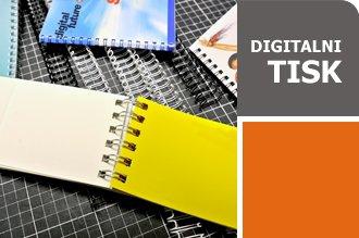 Digitalni tisk brošure